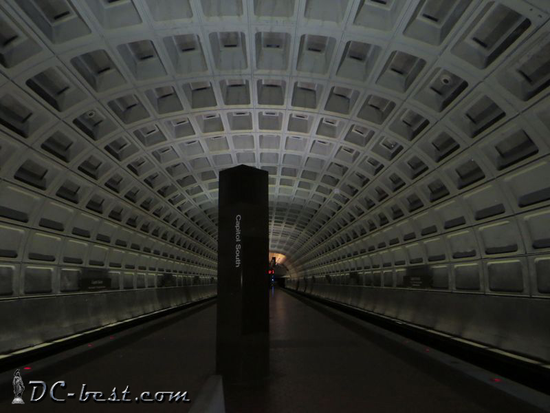 Metro station Capitol South. Washington, D.C.