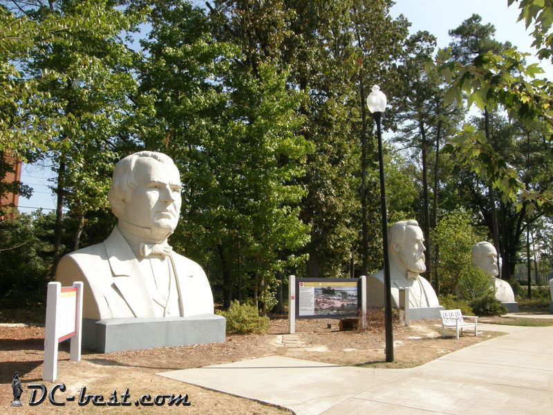 Presidents Park in Williamsburg, Virginia