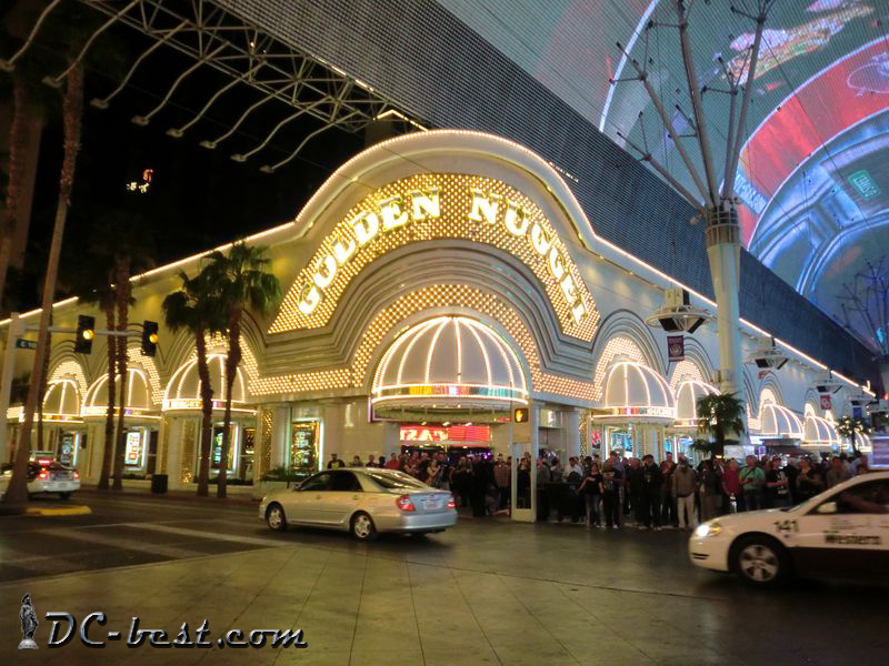Casino Golden Nugget. Las Vegas, Nevada