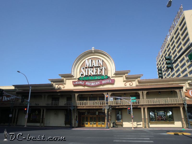 Казино Main Street Station. Las Vegas, Nevada