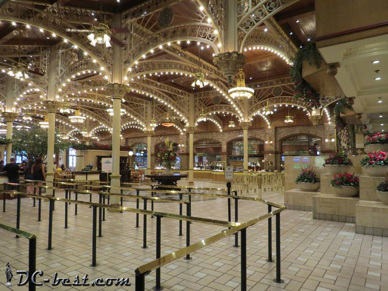 Garden Court Restaurant in the casino Main Street Station. Las Vegas, Nevada