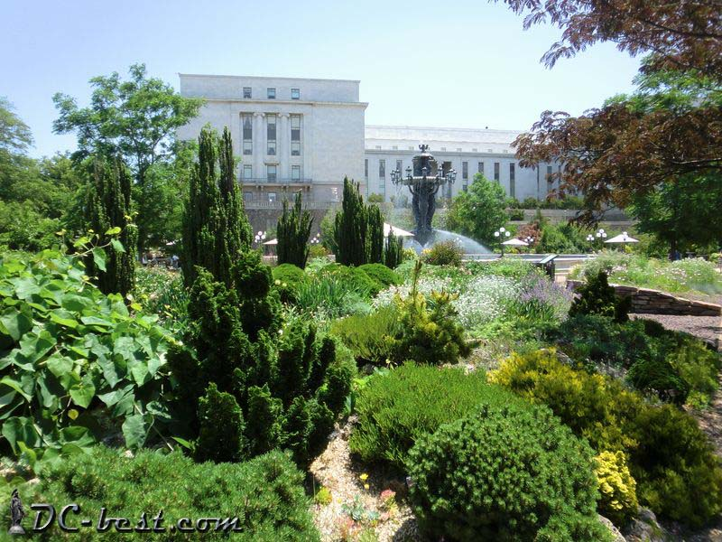 Bartholdi Park in Washington, D.C.