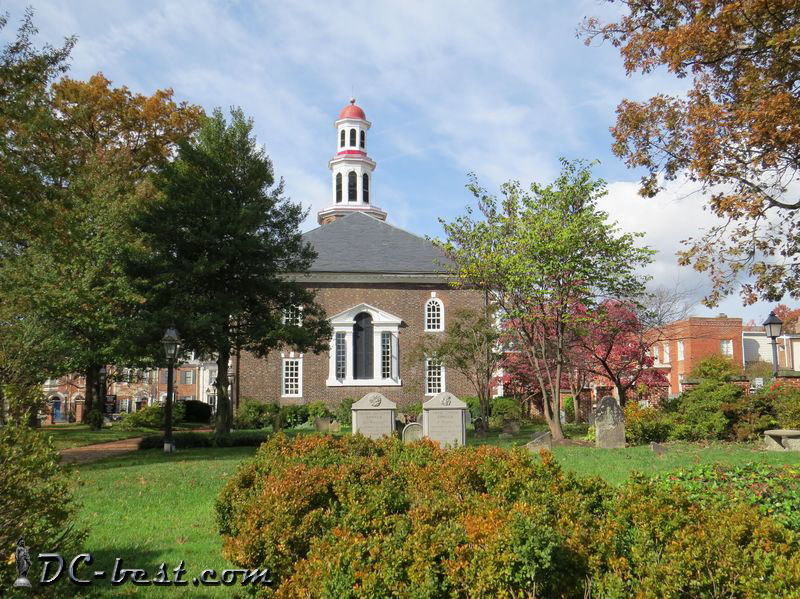 Christ Episcopal Church in Alexandria, Virginia