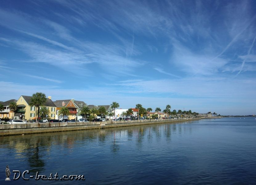 The Halifax River, Saint Augustine, Florida
