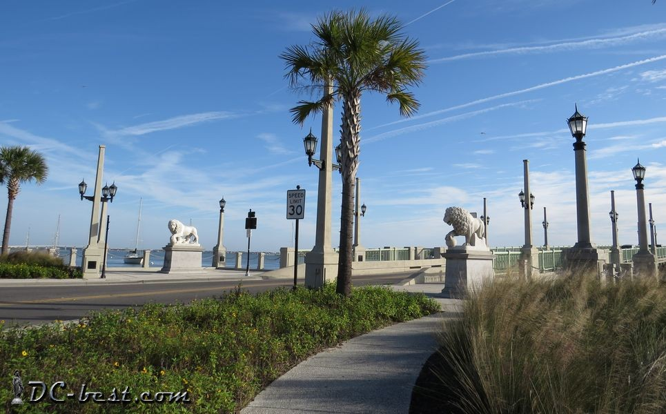 Bridge of Lions in Saint Augustine, Florida