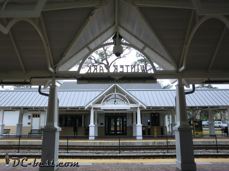 Winter Park rail station, Florida