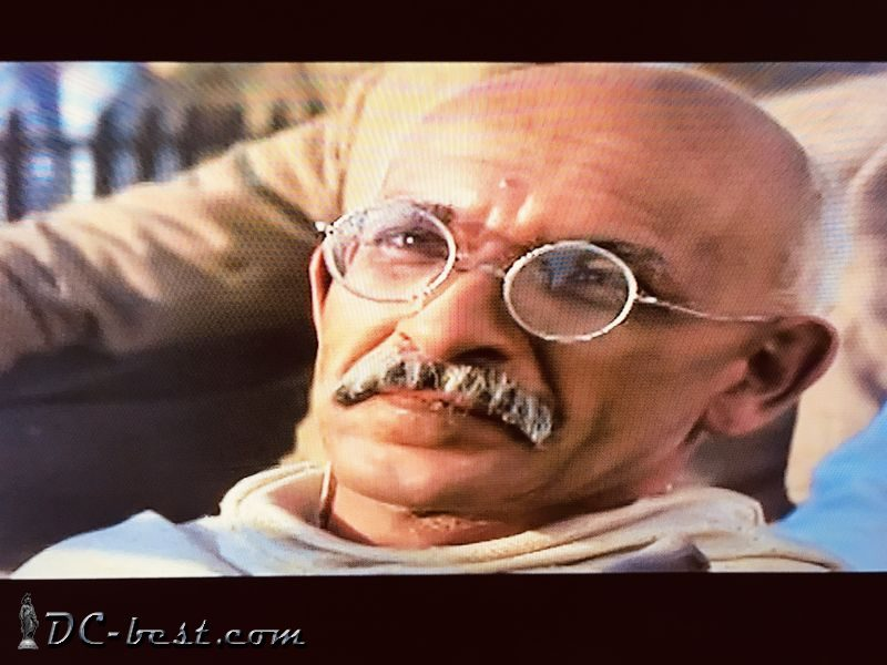 Ben Kingsley. Movie Gandhi