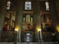 Колонны с настенными фресками в Национальном Масонском Мемориале Джорджа Вашингтона