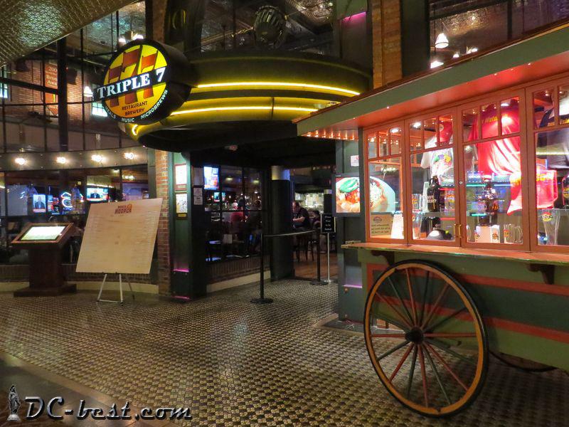 Пивоварня в казино Main Street Station