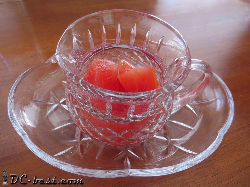 Маринованные консервированные арбузы