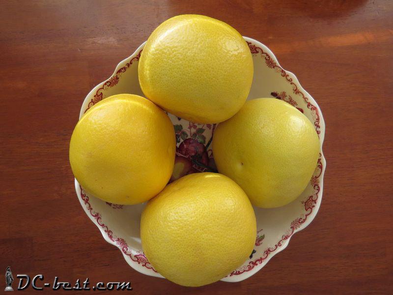 Pomelo — сладкий родственник грейпфрута