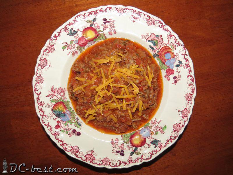 Суп Chili con carne